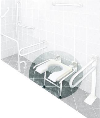 B-4311 felhajtható fürdetőülés