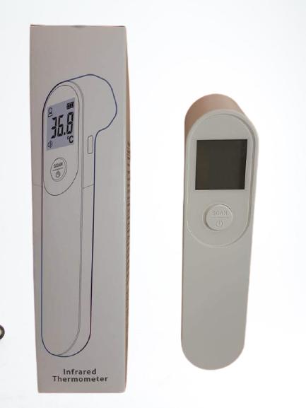 Érintés nélküli infrahőmérő BSX 976