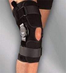 Medi Hinged Knee Wrap Airtex