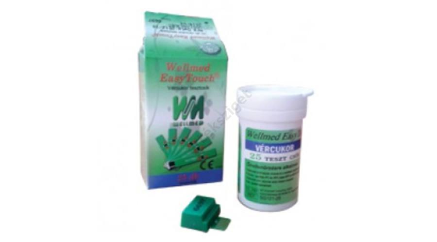 Wellmed Easy Touch Vércukor tesztcsík (25db)