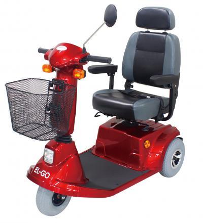 EL-GO elektromos meghajtású háromkerekű moped